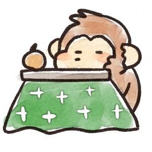 saru_kotatsu