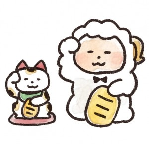 hitsuji_manekineko