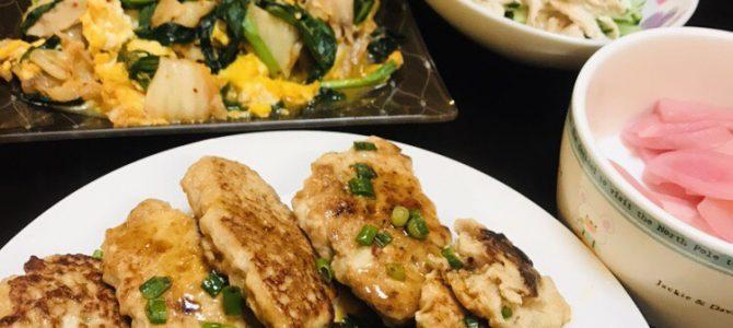 ダイエットの定番、鶏むね肉と豆腐でヘルシーメニューを作る