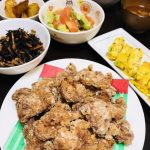 ダイエットの強い味方、鶏むね肉・サーモン・アボカドで夕食を作る。